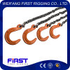 The Best Quality Supply 16t 4 Legs Chain Sling with Eye Grab Hook