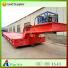 Front Foldable Gooseneck Loading Hydrauli Low Bed Semi Trailer
