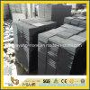 Hainan Black Basalt Flamed Tile for Paving Garden or Plaza