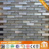 Shower Room Resin Flower, Aluminum and Uflat Glass Mosaic (M858017)