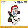 Promotional Customized High Quality Snowman Metal Badge