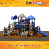 2015 Qitele Outdoor Playground Equipment with Plastic Slide (KSII-19701)