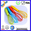 Colorful Food Grade Silicone Egg Whisk