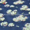 Cotton Polyester Spandex Satin Printed Fabric for Garment Dress (GLLML194)