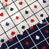 Cotton Poplin Printed Fabric of Playing Card Textile (GLLML155)