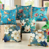 Decorative Cushion Cover Digital Printed Cotton Linen Throw Pillow Case