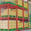China Heavy Duty Movable Metal Stacking Pallet Rack for Warehouse