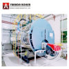 1 to 20 Ton/Hour 13 Bar Pressure Industrial Fire Tube Natural Gas Diesel Heavy Oil Fired Steam Boiler for Sale