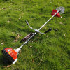 Four-Stroke Lawn Mower Side-Mounted Brush Cutter Small Rice Harvester Orchard Municipal Greening Lawn Mower