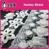 2016 Decorative White Poly White Flower Lace Trimming