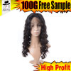 Hair Wig of Brazilian Silk Front Lace Wig