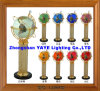 Yaye 18 Hot Sell Ce/RoHS 330mm Lighting Gemstone Globe /Gemstone Globe/ World Globes / Crafrs