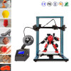 Educational Desktop 3D Printer with printing size 300X300X400mm / Single Z Axis Extruder/ with free PLA Filament