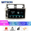 Witson Android 10 Indash Car DVD Player for Toyota 2014 Prado 150 4GB RAM 64GB Flash Big Screen in Car DVD Player