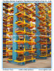 Heavy Duty Pipe Arm Steel Cantilever Shelving	for Warehouse Storage