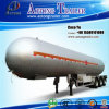 Tri Axles Liquid Gas Storage LPG Tank Semi-Trailer