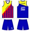 Custom Design Sublimation Basketball Uniform for Teams