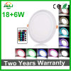Round RGB Recessed (18+6) W LED Panel Light