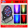 18PCS*3W RGB Plastic Indoor LED PAR Light
