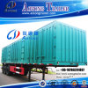 3 Axle 45-60t Van Type Box Transport Heavy Duty Semi Trailer (step wise optional, 1-5 bifold each side) (LAT9400XXY)