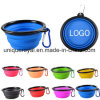 Outdoor Foldable Silicone Pet Dog Bowls