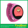 Round Screen Android Wristwatch Bluetooth 4.0 GPS Heart Rate Fitness Tracker