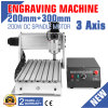 CNC 3020t Wood Router Engraver/Engraving Drilling and Milling Machine