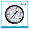 Economy Pressure Gauge-Back Entry Manometer-Black Steel Pressure Gauge