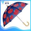 Creative Lightweight Portable Handle Waterproof Children Umbrella with Red Apple