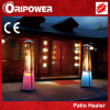 Flame Patio Heater with LED Lights