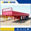 Durable Steel 3 Axles Side Wall Semi Trailer/ Cargo Trailer