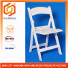 White PP Resin Folding Wedding Chair