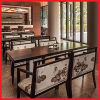 Latest Design Wood Chinese Restaurant Arm Chair Table Furniture