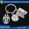 Football Shape Logo Printed Keychain for Souvenir
