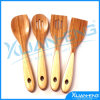 Luxury Bamboo Frying Slotted Spoon