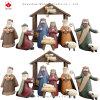 Cheap Christmas Decoration Resin Nativity Set