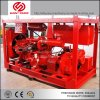 Fighting 750gpm Firefight Water Pumps Non Clog 6 Inch Self Priming Dewatering Fire Pump Flow Meterss