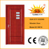 Best Quality Single Wood Door with Glass Inserted (SC-W019)