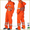Safety Workwear Men's Waverley High Visibility Packable Storm Suit