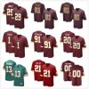 Dexter Manley Dwayne Haskins Sean Taylor Customized Game Football Jeseys