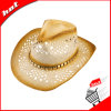 Printed Paper Braid Straw Hat Cowboy Hat