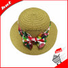 Paper Straw Floppy Hat Sun Knitted Hat