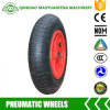 3.00-8 13inch Pneumatic Wheelbarrow Wheels with Metal or Plastic Rims