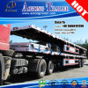 2 Axles Flatbed Container Truck Trailer for Kenya with Locks