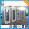 Upper Glass Lower Steel Metal Cabinet