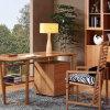 Bamboo Modern Office Secretary Desk Table