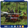 Hydraulic Trailer Mounted 100m Depth Drilling Rig for Water Well