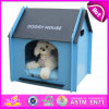 2015 New Fashion Wooden Pet Bed Wholesale, Best Quality Pet Dog Beds, Pet Product, Hot Sale Cheap Wooden Pet Bed W06f002b