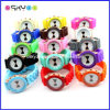 Fashion Bow Tie Silicone Kids Quartz Watches (P6600)