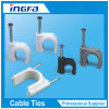 Round Cable Clips with Steel Nail for Tight Wire Use